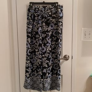 Wide leg cropped pant by Loft
